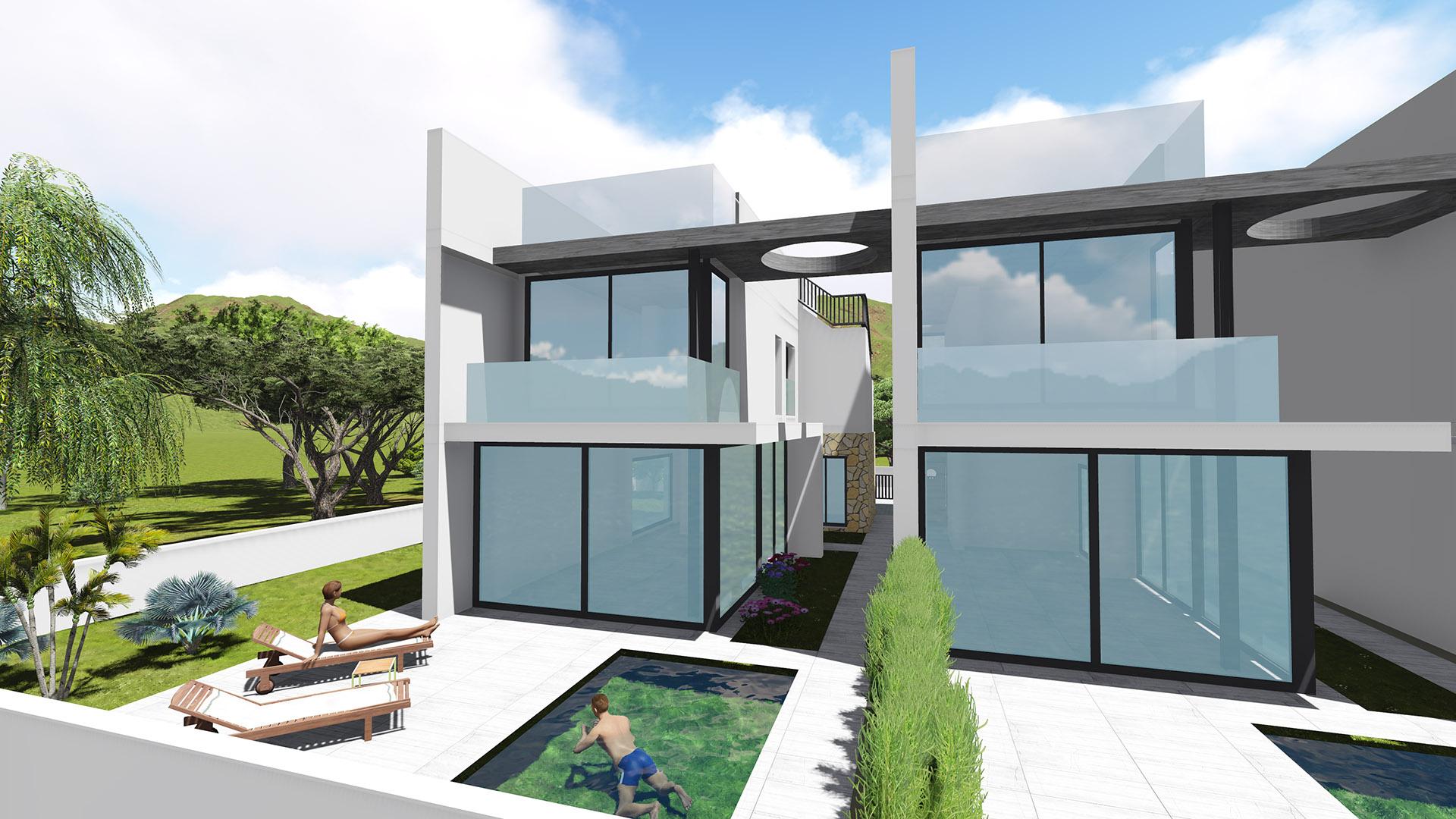 chalet-diseno-3d-fachada