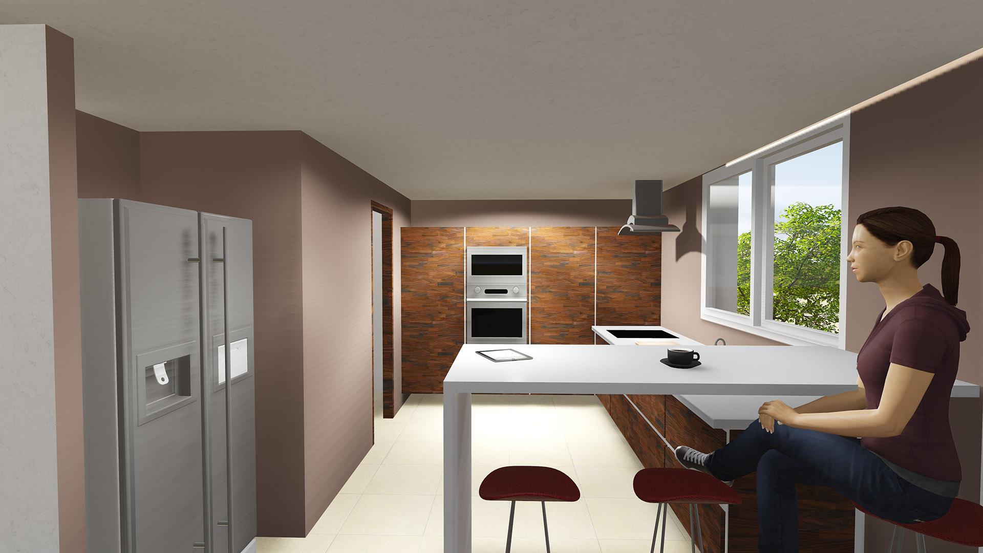 Edile Arquitectura | Diseño 3D cocina