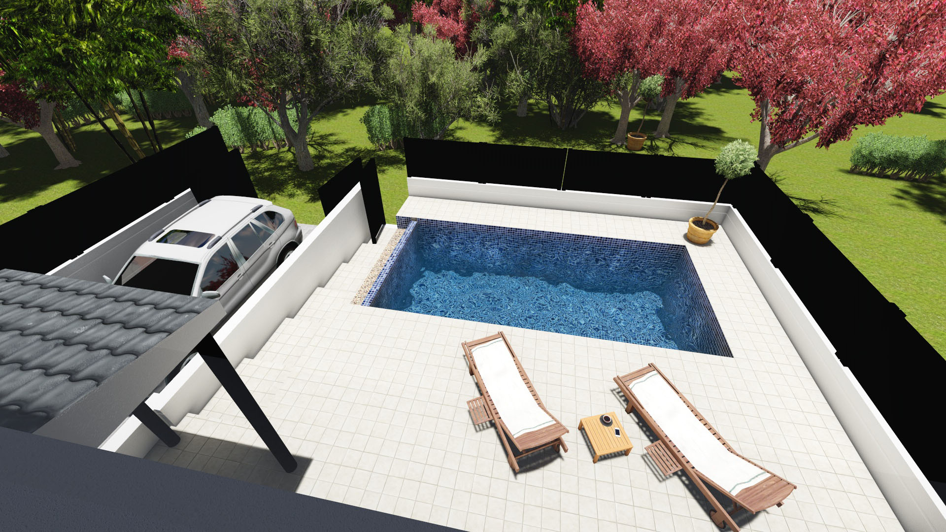 sobre el proyecto with piscinas con diseo - Piscinas De Diseo